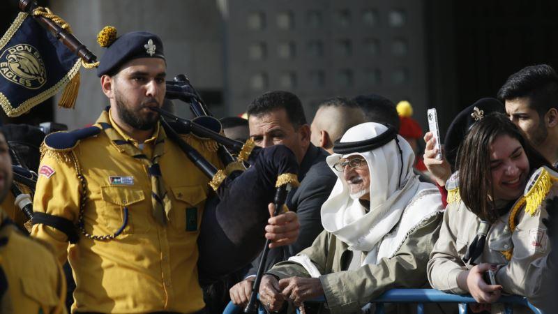 Thousands Celebrated Christmas Eve in Bethlehem