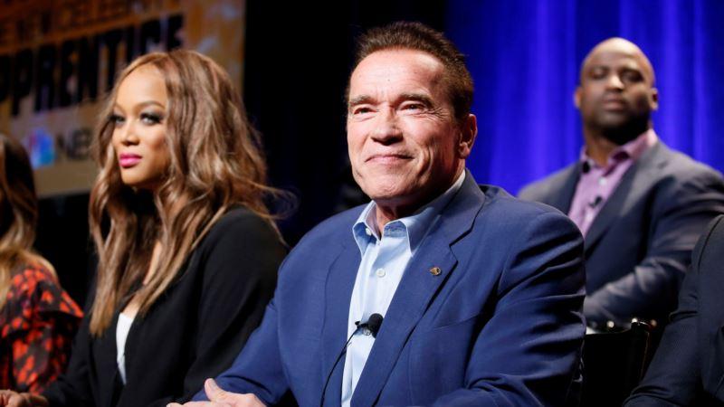 As Trump Moves up, 'Celebrity Apprentice' Gets Schwarzenegger Spin