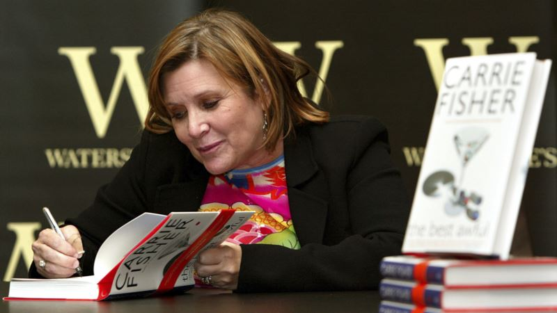 Carrie Fisher's Books Become Best-Sellers After Her Death