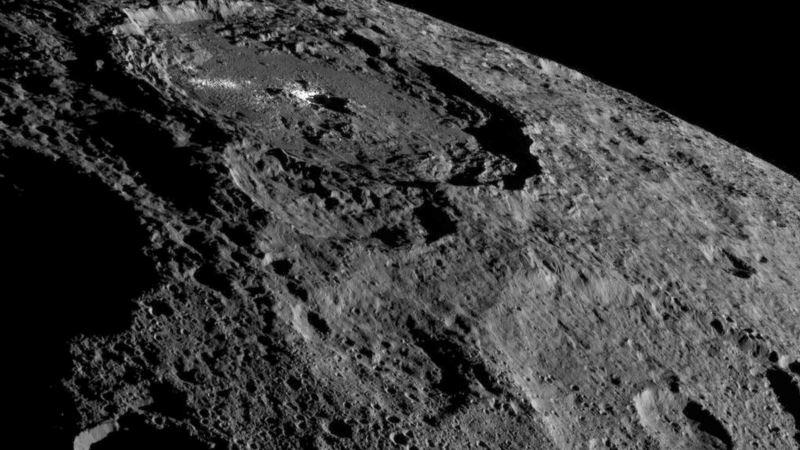 Dwarf Planet Ceres Flush with Ice, NASA Studies Show