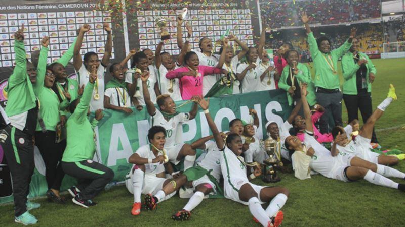 Nigerian Women's Soccer Team Protest at Unpaid Victory Bonuses
