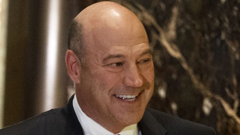 Trump Taps Goldman Sachs Executive Cohn for Key Economic Post