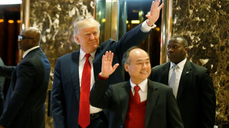 Trump: Japanese Firm to Invest $50 Billion, Add 500,000 Jobs in US