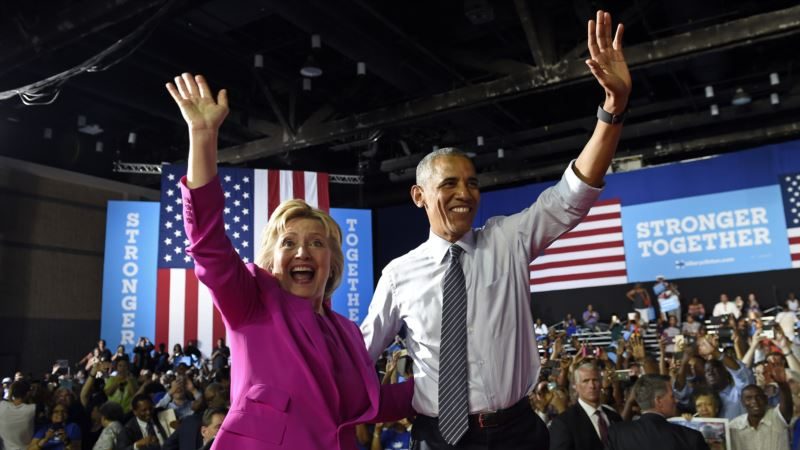 Clinton, Obama 'Most Admired' Americans