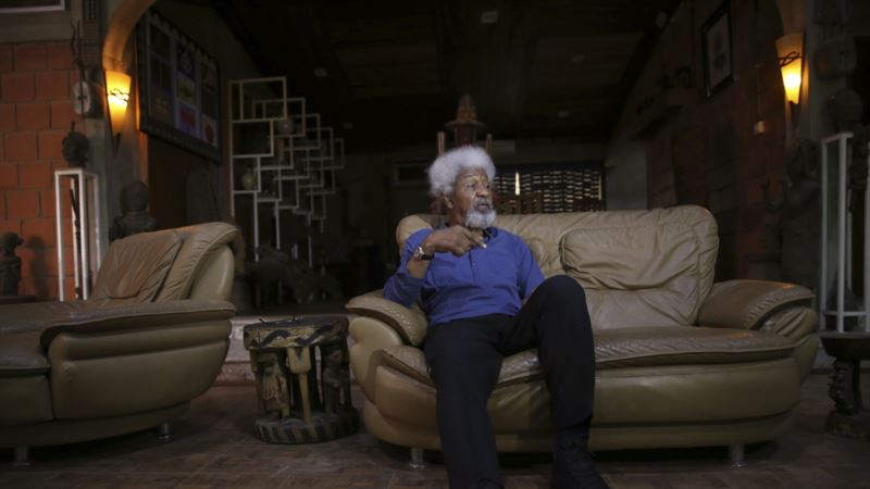 Nobel Prize-winning Soyinka Shreds US Greencard in Anger Over Trump Victory