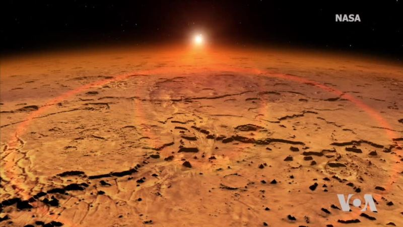 US, British Scientists Look for Life on Mars