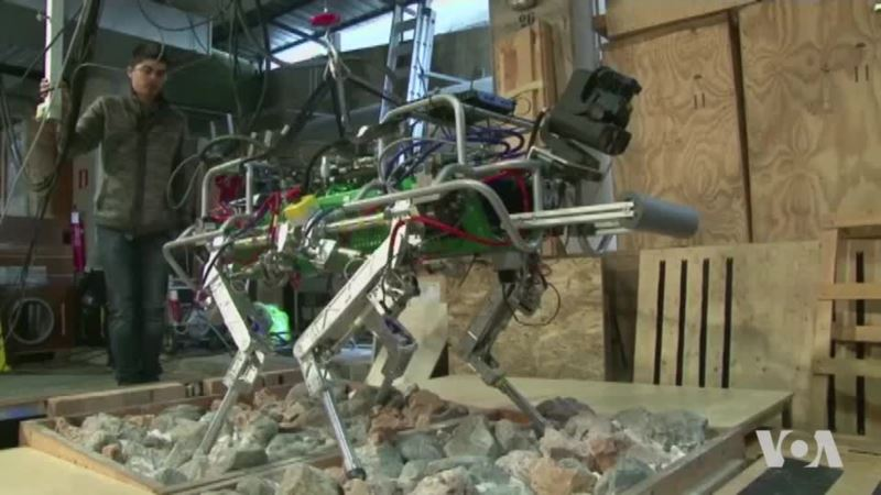 Developing Robots Recovery Operations After Earthquakes