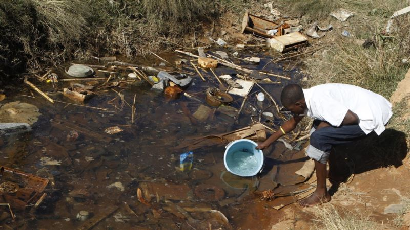 Zimbabwe Battles New Typhoid Outreak
