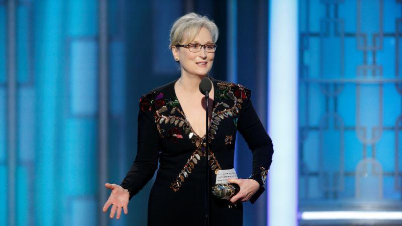 Robert De Niro Says Meryl Streep's Globe Speech Was 'Great'