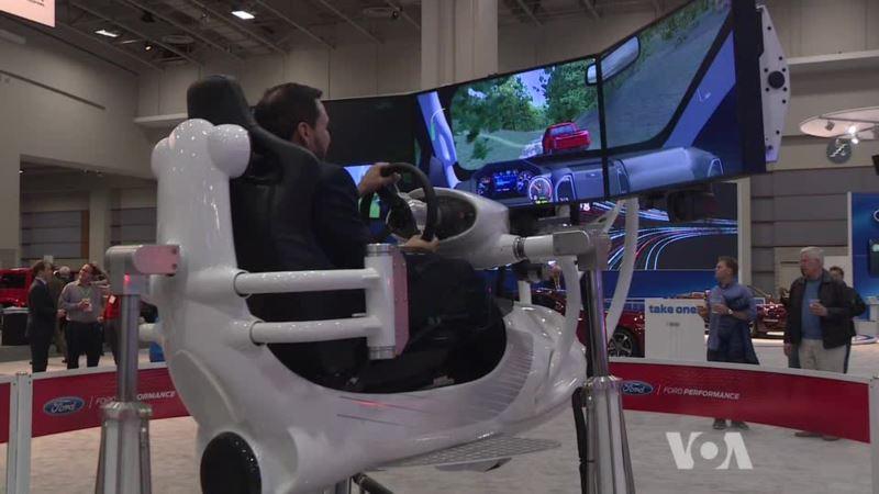 Bolt EV Stars at Washington Auto Show