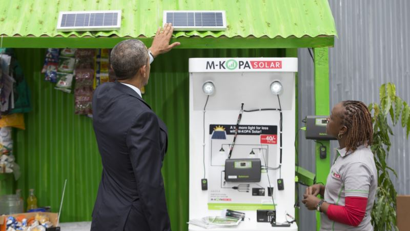Homegrown Solar Farm, Wind Turbines Keep Kenyan Community Buzzing