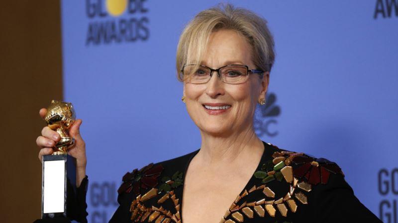 Streep's Golden Globe Comments Draw Sharp Rebuke from President-elect