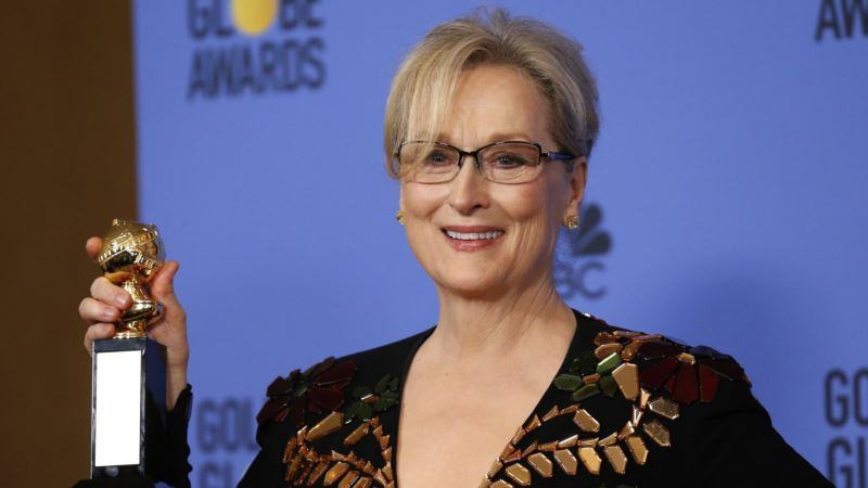 Streep's Golden Globe Comments About Trump Draw Sharp Rebuke from President-elect