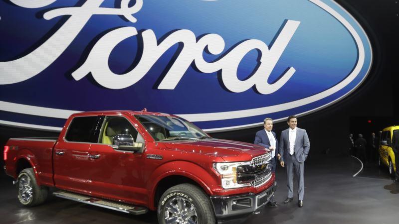 Trump Praises Ford, Fiat Chrysler for US Investments