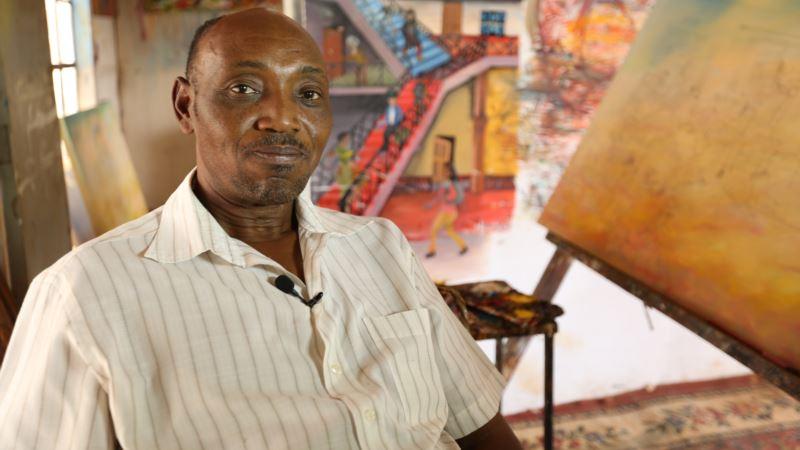 Kenyan Artist Depicts Suffering From Doctor's Strike