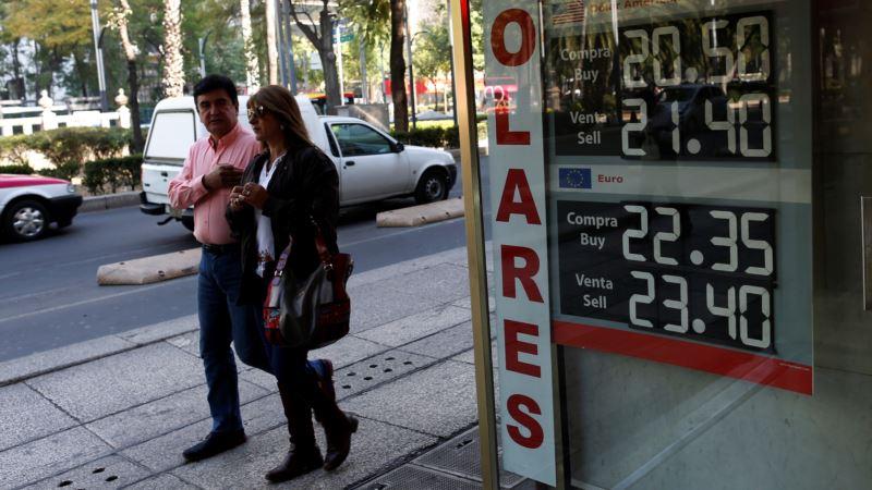 Mexico's Peso Hits Record Low on Trump Talk of Wall, Auto Tax