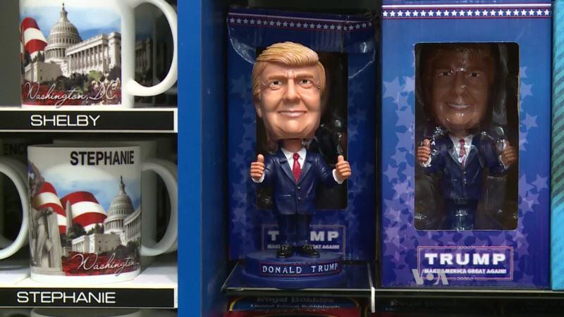 Washington Souvenir Shops, Hotels Get Ready for Trump Inauguration