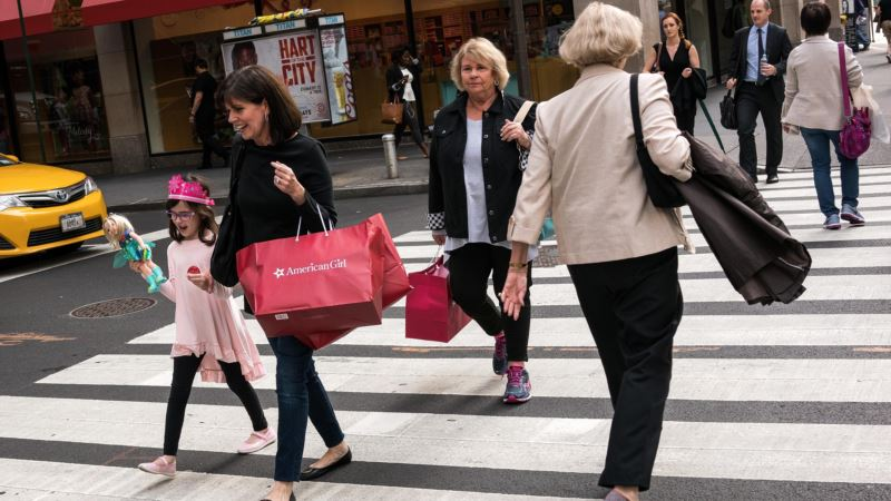 US Consumer Spending Up 0.5 Percent in December