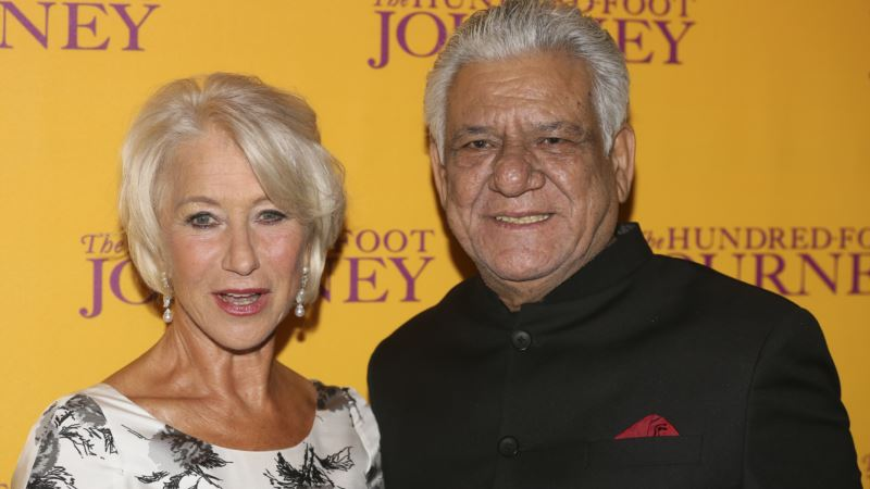 Star in Bollywood and the West, India's Om Puri Dies at 66