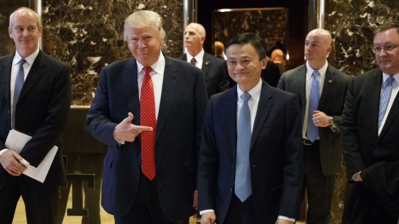 Alibaba Tells Trump About US Store Plan for China E-shoppers