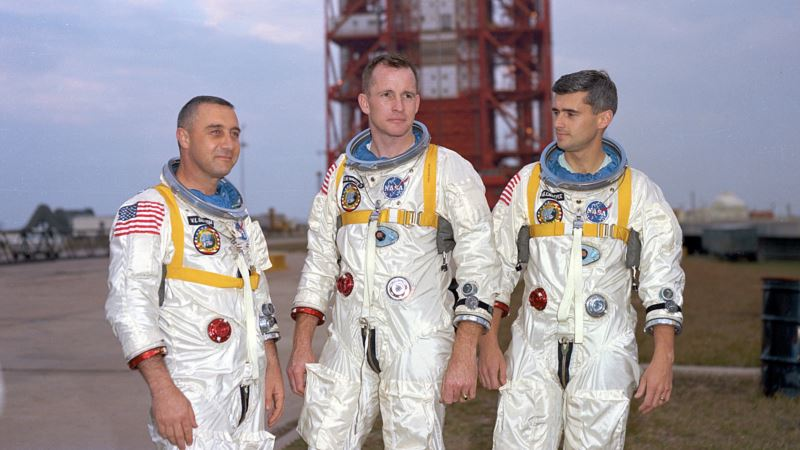 Hundreds Honor 3 Astronauts Lost in Apollo Fire 50 Years Ago