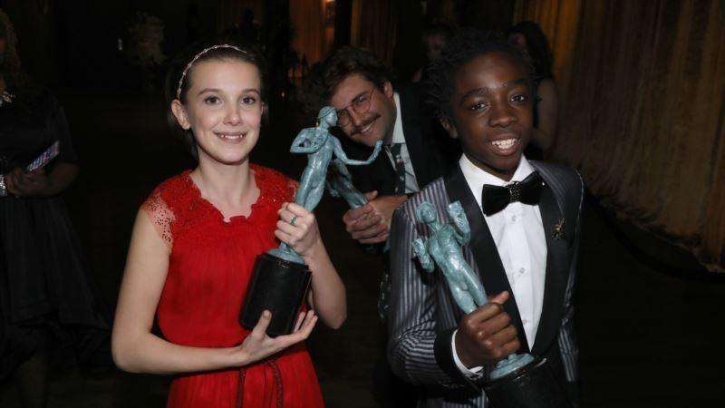 'Stranger Things' is Upset Winner of SAG Awards' TV Prize