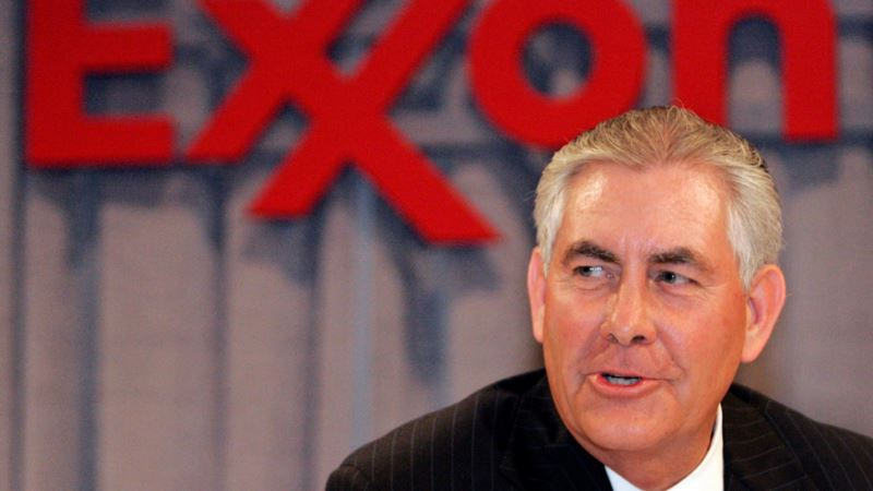 Trump's Secretary of State Pick Gets $180M Retirement Package From Exxon