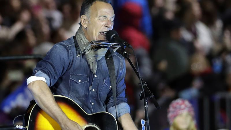 Springsteen Cover Band Catches Heat for Inaugural Event
