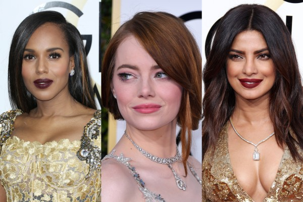 7 Epic Golden Globes Beauty Looks You Can Totally Nail Without An MUA
