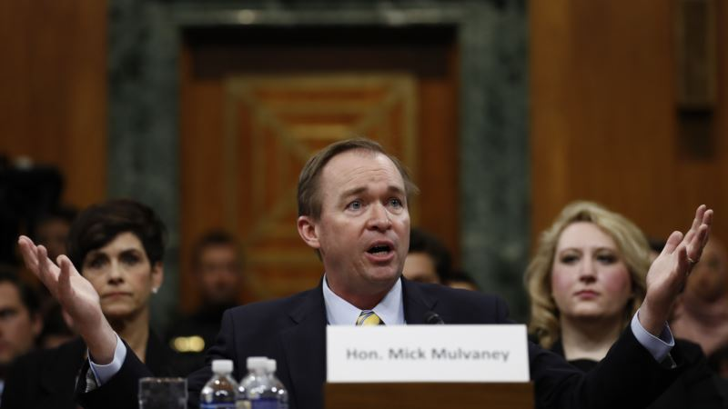 Senate Confirms Mulvaney as Trump's Budget Chief