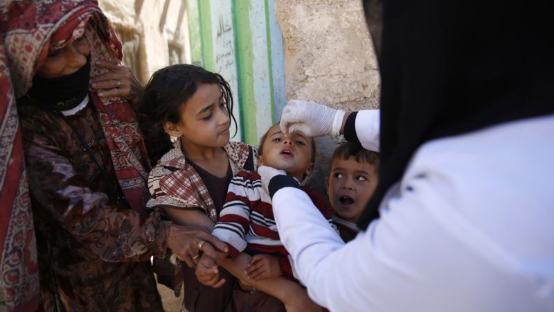 Yemen Launches Polio Vaccination Drive Amid Fears Disease Could Reappear