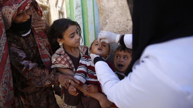 Millions of Yemen Children Still Not Immunized Against Polio