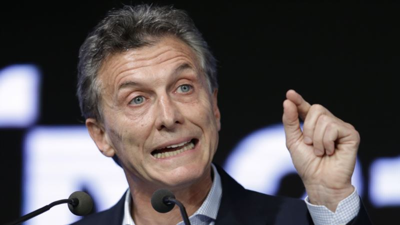 Argentina's Macri Moves to Cut Labor Costs, Work with Unions