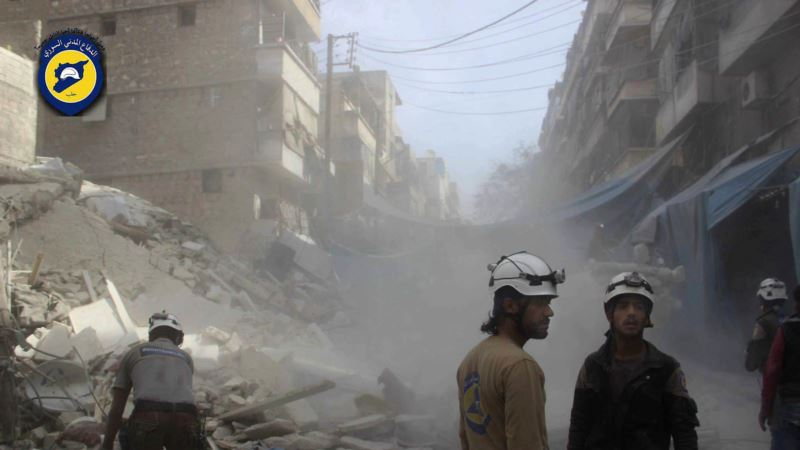 'White Helmets' Filmmakers Say Trump Travel Ban Hurts Syrian Subjects