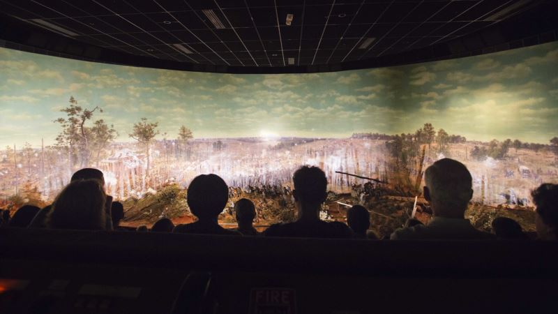 How Do You Move a 6-ton Civil War Battle Painting? Slowly
