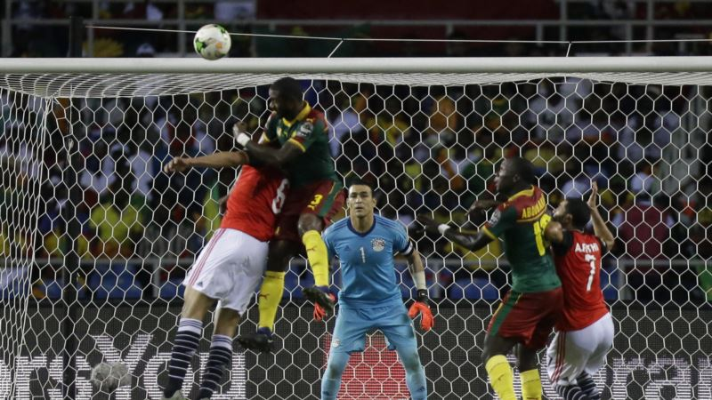 Cameroon Claims African Nations Soccer Cup Title, Beating Egypt 2-1