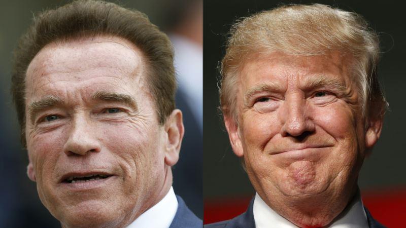 Trump Jabs Schwarzenegger Over Show Ratings