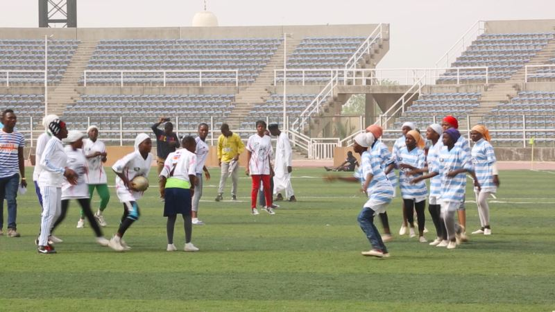 Girls Rugby Teams Shatter Stereotypes in Nigeria