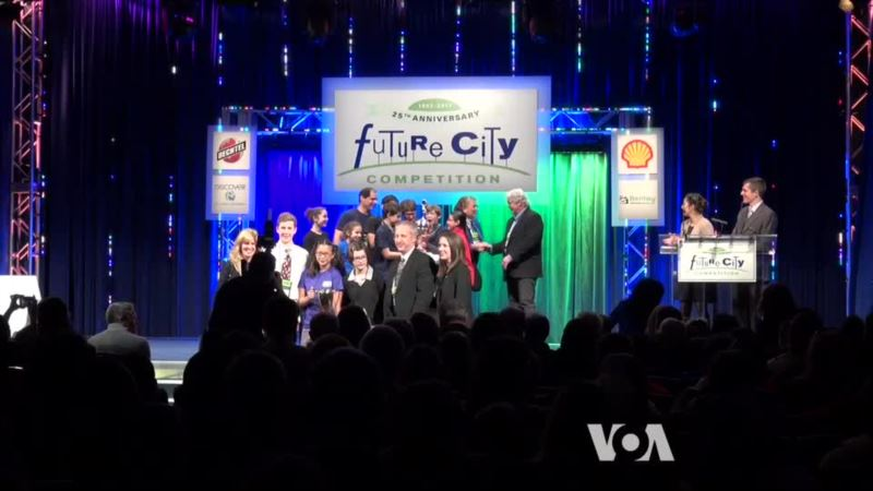Students Compete Designing Future Cities