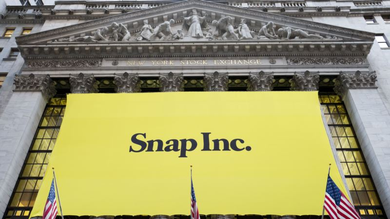 Snap Shares Rise as Underwriters Start Coverage with 'Buy'