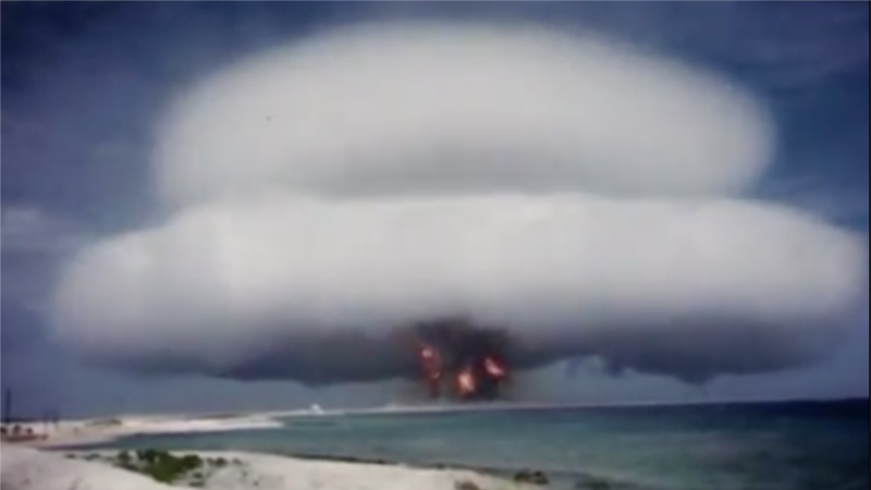 US Nuclear Weapons Test Videos Released on YouTube
