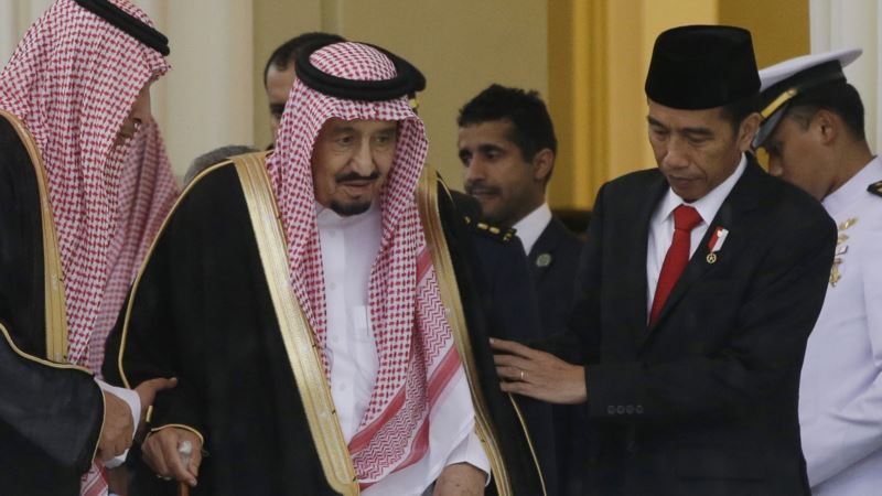 Saudi Arabia Announces Indonesia Investments as King Visits