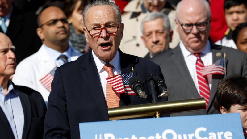 Schumer Seizes on Trump Team's Offer to Work With Democrats on Health Care