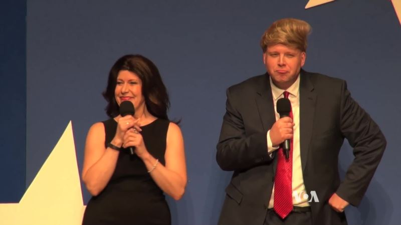 With a New Administration, American Comedy Group Creates New Jokes
