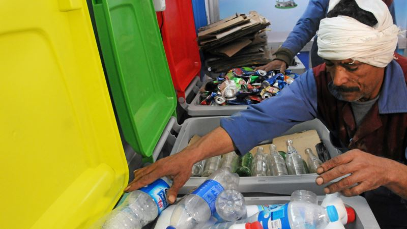 Money for Garbage? Cairo Kiosks Buy Recyclable Material