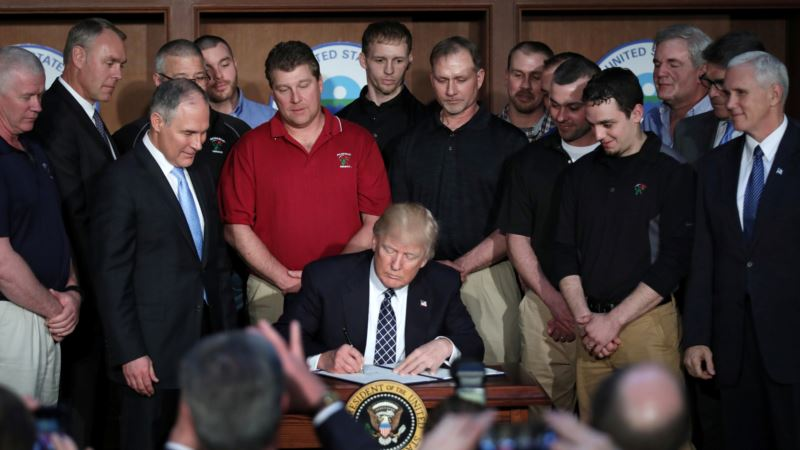 Main Points in Trump Climate Policy Executive Order
