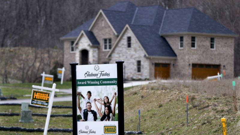 Report: New US Home Sales Rise