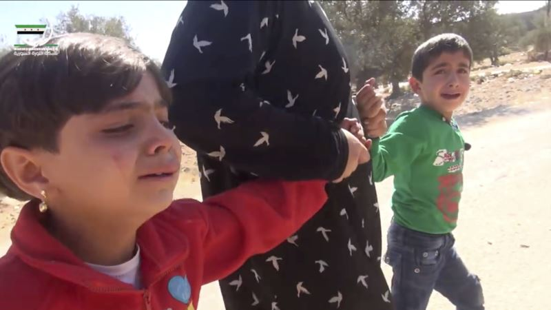 Report: Syrian Children Suffering from 'Toxic Stress' Due to War