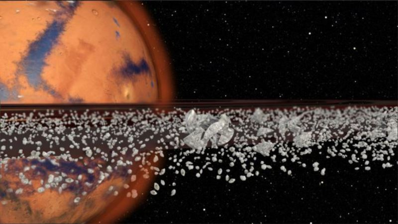 Mars May Have Had Rings, and May Once Again
