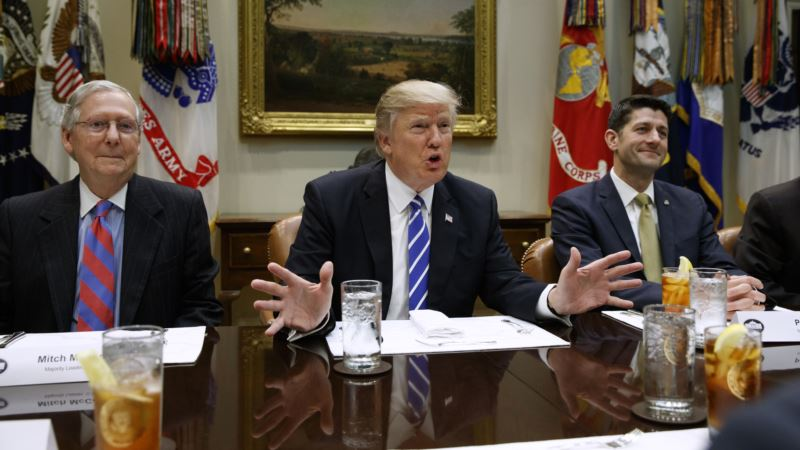 Trump Calls Republican Health Plan 'Wonderful,' but Fate Uncertain